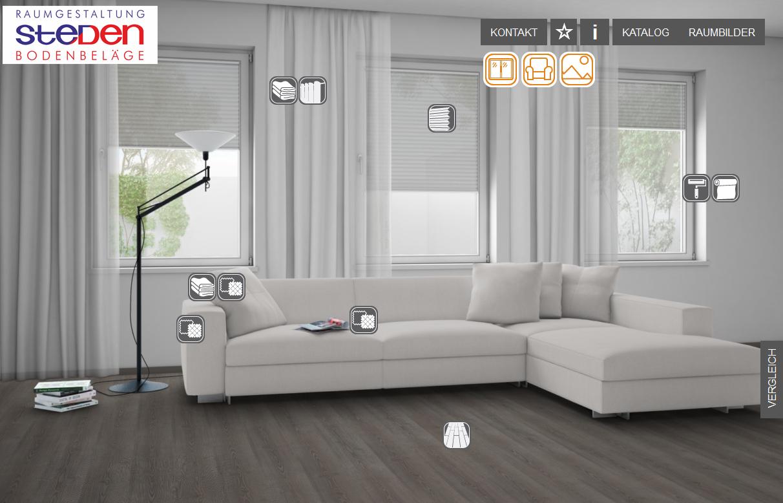 Wohnraumkonfigurator Steden Raumgestaltung